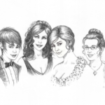 Vanderbilt-DeJaegher Wedding Party, by Diane Kraus