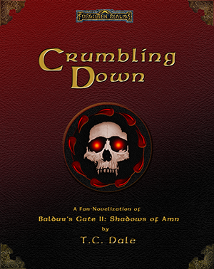 Cover image for 'Crumbling Down' by T.C. Dale