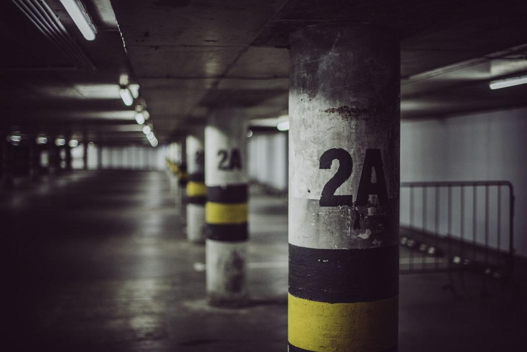 Parking Garage Pillars